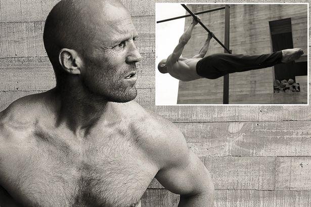 Jason Statham trening